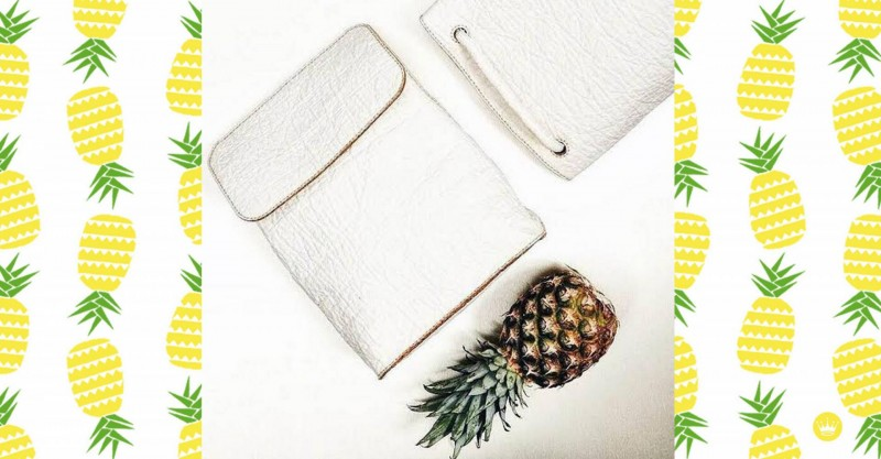 Pinatex, Ananas Anam, KaoriAnne, Pineapple, vegan leather, vegan fashion