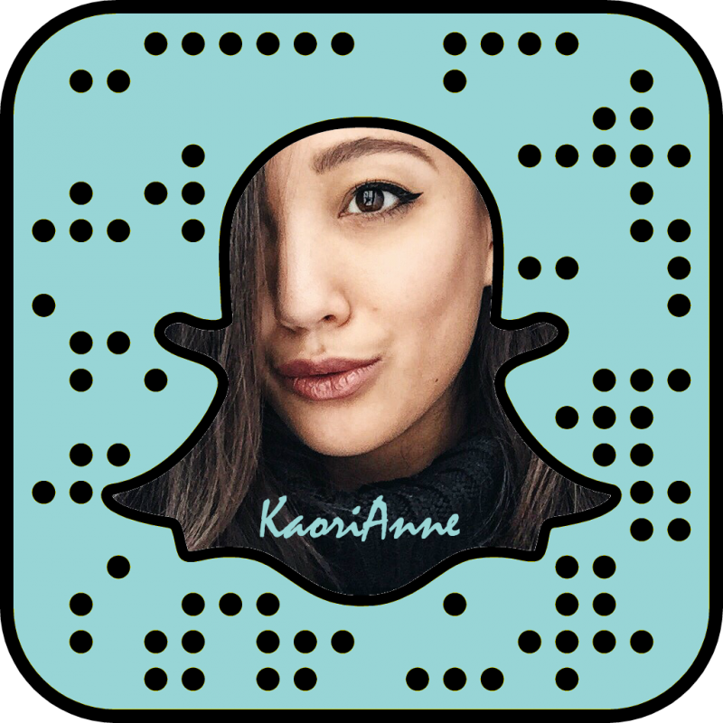 KaoriAnne blue png snapcode photo