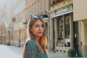 Portrait photo of Kristiana V in Luxembourg City